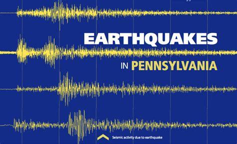 tracks seismic activity in pennsylvania penn state university earthquakes in pennsylvania penn state university