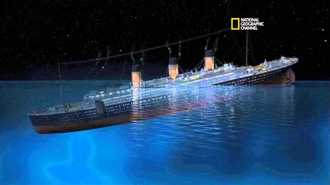 How The Sinking Of The Titanic Changed The World by Rms Titanic Sinking Simulation 101yr Tribute