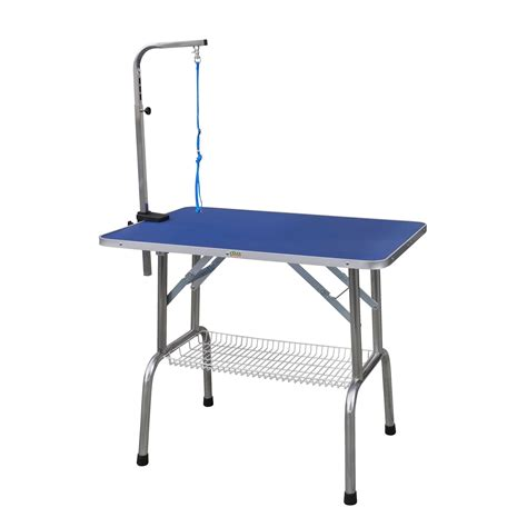 go pet club heavy duty stainless steel pet grooming table
