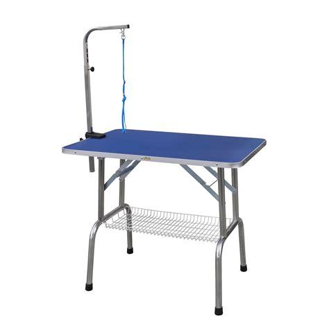 grooming tables go pet club heavy duty stainless steel pet grooming table