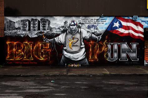 big pun mural rip big punisher memorial wall big