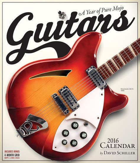 Calendã 2018 Comprar Guitarras Calendarios 2018