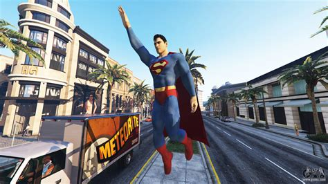 mod gta 5 superman statue superman for gta 5