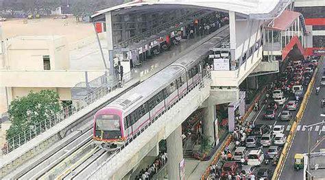 Visval Metro Brown telangana wants pm modi to inaugurate hyderabad metro project the indian express