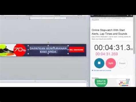 membuat banner iklan online membuat banner iklan hanya 5 menit dengan powerpoint youtube