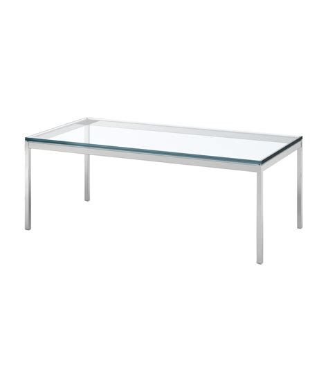 Florence Knoll Coffee Table Florence Knoll Rectangular Coffee Table Milia Shop