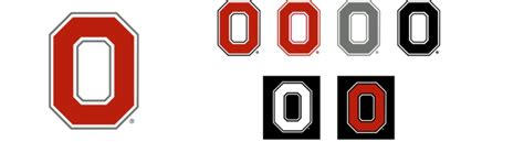 Ohio State Block O Outline by Ohio State Brand Guidelines