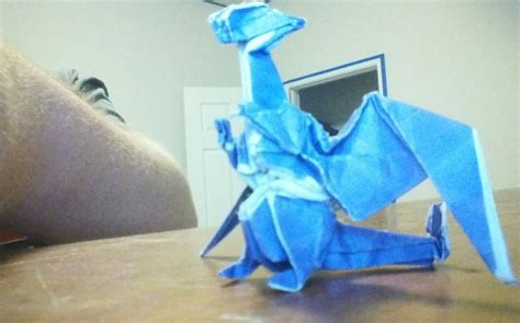 Origami Charizard - my origami charizard by cmwacker99 on deviantart