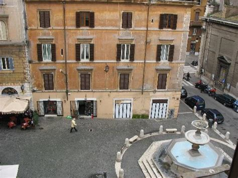 casa santa sofia view from room overlooking the piazza dei monti picture