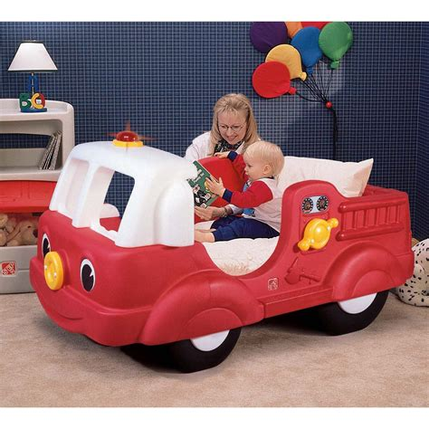Step 2 Firetruck Toddler Bed Dimensions Step 2 Fire Engine Toddler Bed