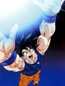 imagenes de goku haciendo la genquidama goku uses spirit bomb quot genkidama quot anime pinterest