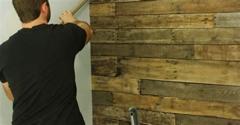 create a faux wood pallet wall wendy james designs made from pallets accent wall http www pinterestbest