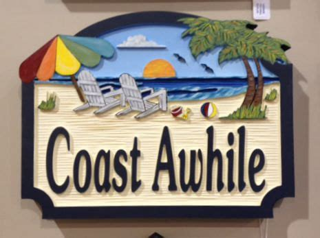 beach house signs personalized beach house signs image mag
