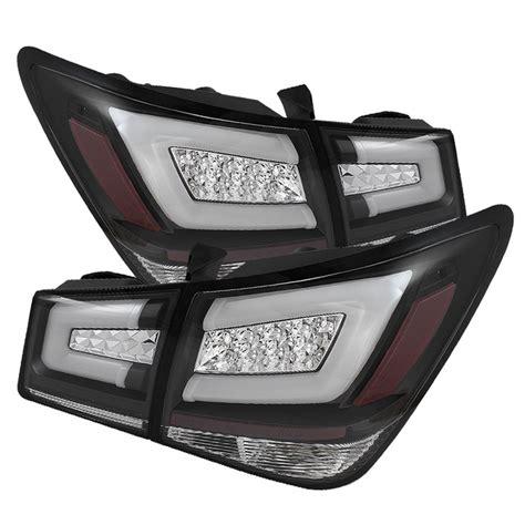 chevy cruze light bar spyder light bar led tail lights black 2011 2016