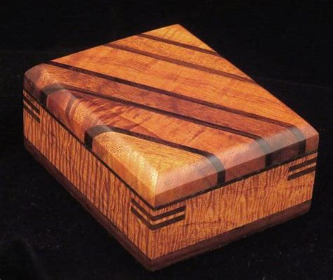 Decorative Wood Boxes by Custom Made Edged Box Wooden Boxes