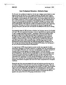 Subject Reflection Essay by Reflective Essay Subjects Allied To Medicine Marked By Teachers