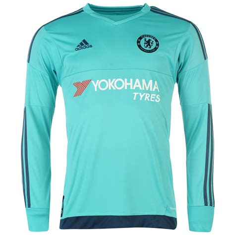 Chelsea Home Jersey 2015 2016 adidas chelsea fc home jersey 2015 2016 goalkeeper mens