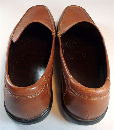 nike loafers for cole haan nike air loafers mens 11 m brown leather slip on