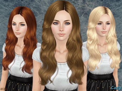 female hair sims 3 cazy s raindrops female hairstyle set the sims 3 hair