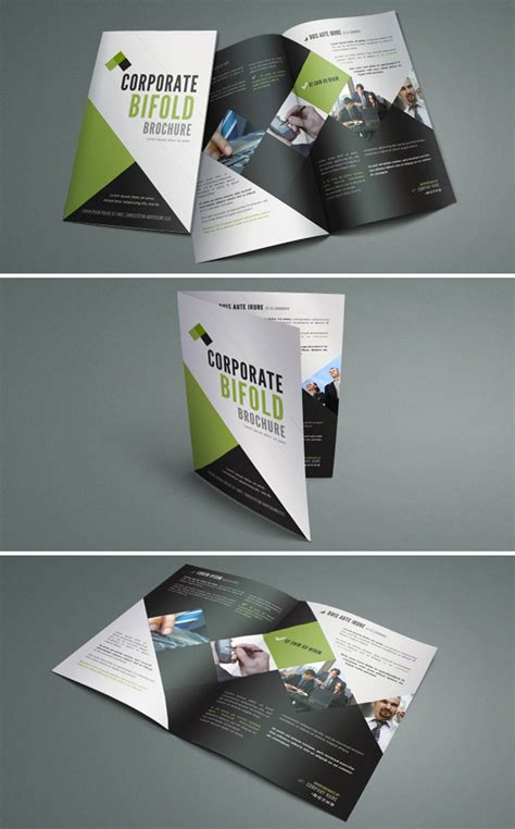 bi fold brochure design templates 15 free brochure templates for designers to naldz