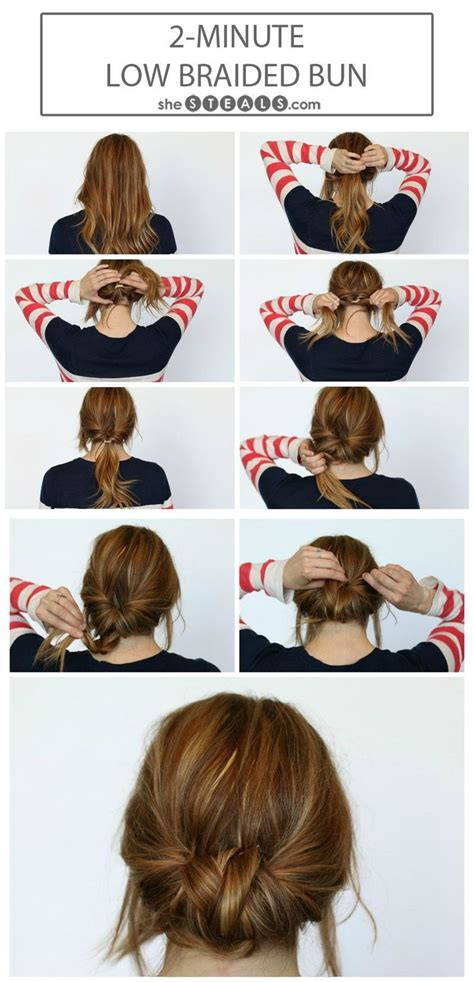 easy hairstyles to do in the morning for school 10 easy bun hairstyles updo morning hair and braid buns