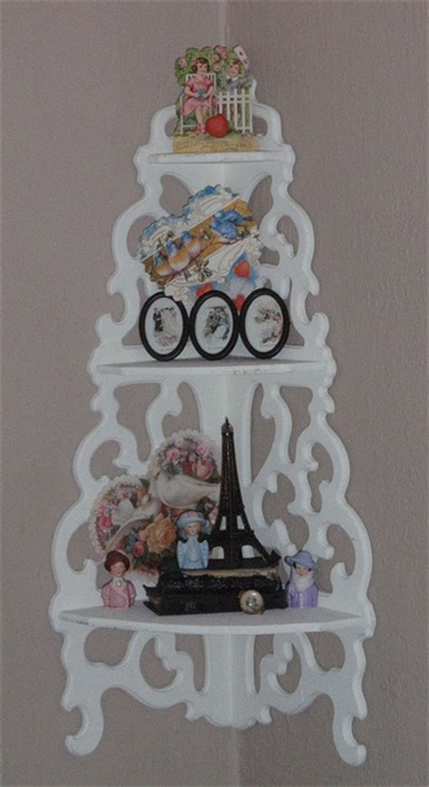 17 best images about corner shelf units ideas on pinterest bakers rack shabby chic cottage