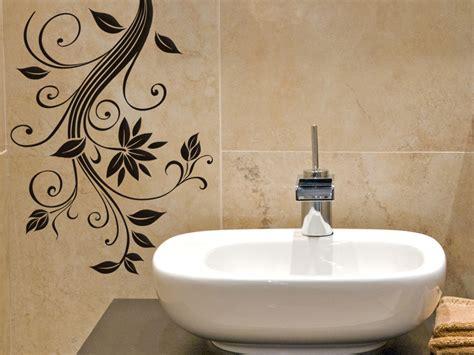 Fliesentattoos Badezimmer by Wandtattoo Blumenranke Mit Bl 252 Ten Wandtattoo
