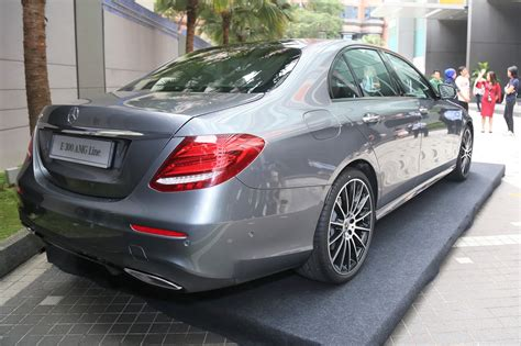 mercedes 2019 malaysia mercedes malaysia introduces the e 300 amg line to