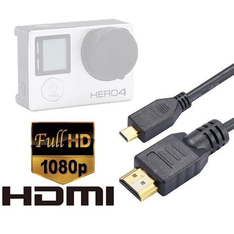 1 5m Hdmi High Speed Cable Black luxebell high speed hdmi hd cable for gopro 5 4