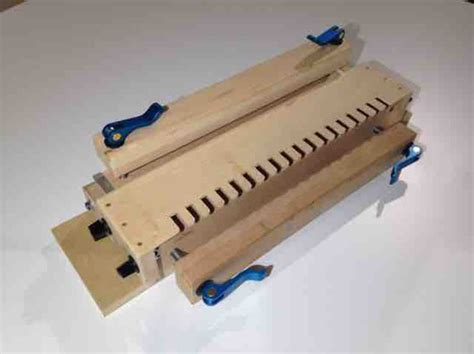 router table dovetail jig page  woodworking talk