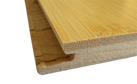 horizontal natural click lock bamboo glue less diy floors
