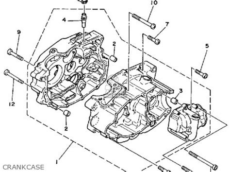 yamaha moto 4 80 wiring diagram electrical and