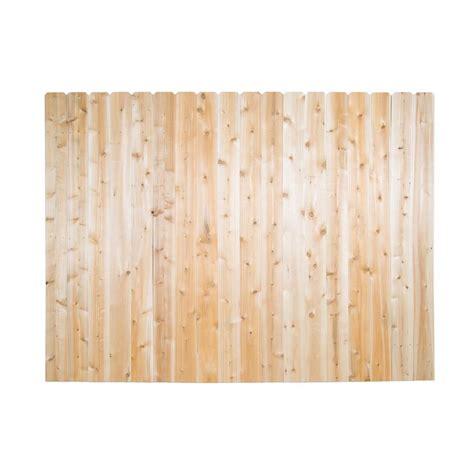 home depot ear fence 6 ft x 8 ft spruce pine fir ear