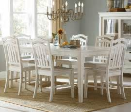 Buy Dining Room Set by Summerhill 7 Piece 72x40 Dining Room Set In White Buy