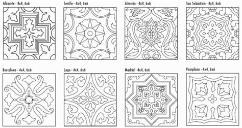 free coloring pages of moroccan tiles