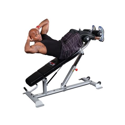 ab exercise bench body solid sab500 pro clubline adjustable ab bench