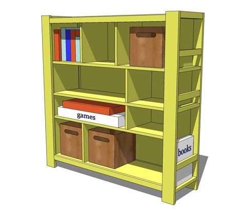 easy diy bookshelf plans diy blueprint plans free