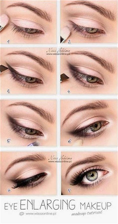 eyeshadow tutorial easy 15 easy natural make up tutorials 2014 for beginners