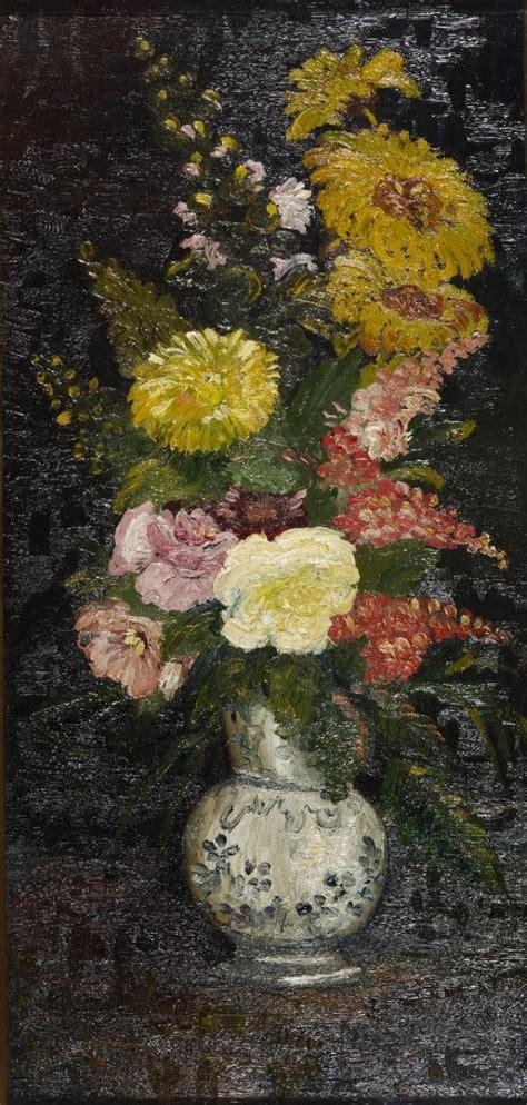 vaso di fiori gogh vaso con fiori arte