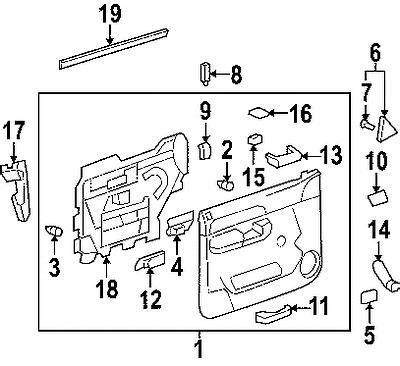factory gmc parts buy gmc 25838246 genuine oem factory original trim