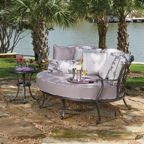 patio furniture new orleans woodard new orleans 2 crescent cuddle chair set wd