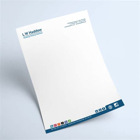 Award Winning Letterhead Lw Haddow Fraktul Award Winning Marketing Brand And Promotion For Your Organisation