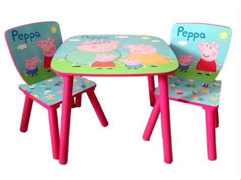 peppa pig table and chairs pin by toctocshop com on peppa pig