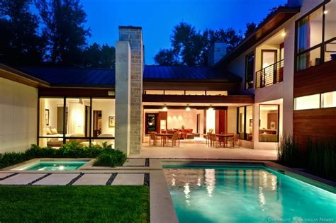 home design dallas modern home designed by architect todd hamilton