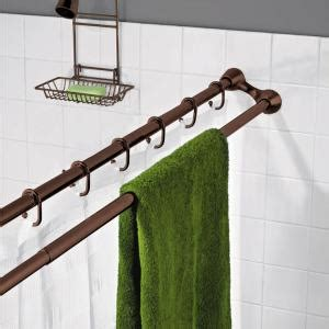 Bath Bliss Curved Shower Rod curved shower curtain rod