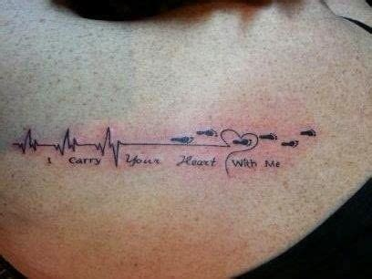 ekg tattoo meaning stupid rhythms bad ekg tattoos tattoos