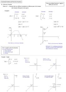 math 2 piecewise functions worksheet 2 answers piecewise