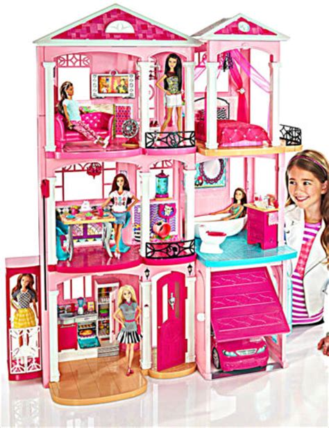 barbie dream house furniture mattel barbie dream house 2015 doll play furniture set 3 story elevator parts what s