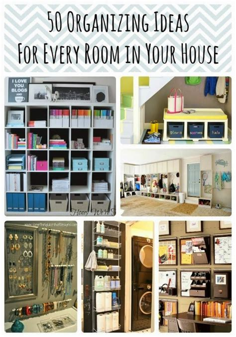 organization tips 50 diy organization ideas for every room in your home