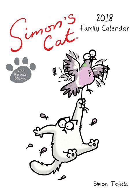 simons cat square calendar simon s cat a3 family planner 2018 calendar club uk